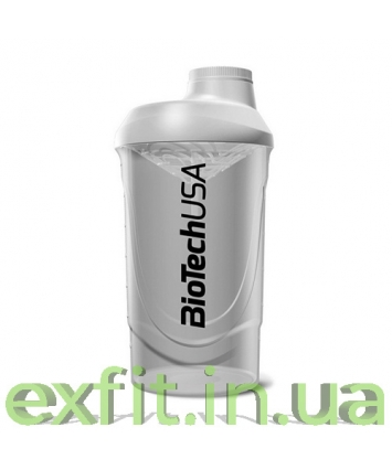 BioTech USA Шейкер Wave (600 мл) белый