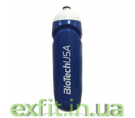 Waterbottle BioTech USA (750 мл) сине-белый