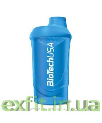 BioTech USA Шейкер Wave (600 мл) голубой