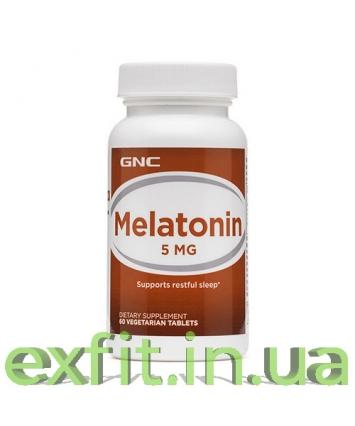 GNC Melatonin 5 мг (60 таблеток)