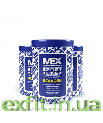 MEX Nutrition BCAA 20K (520 грамм)