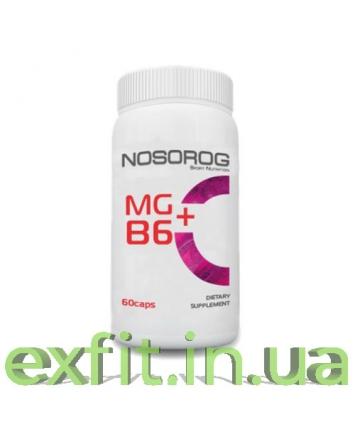 NOSOROG Mg + B6(60 капсул)