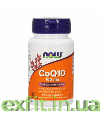 NOW CoQ10 100 мг (30 капсул)