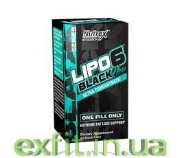 Lipo 6 Black Hers Ultra concentrate (60 капсул)