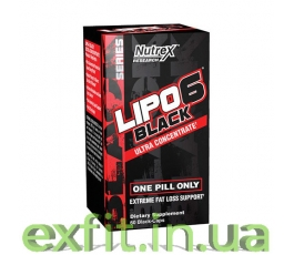 Lipo 6 Black Ultra concentrate (60 капсул)