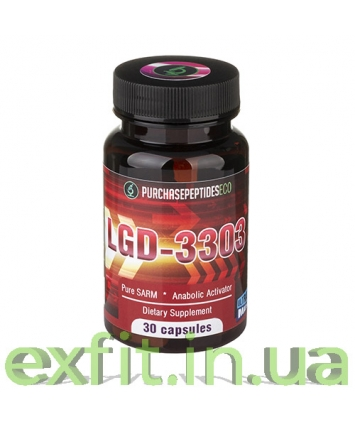Purchasepeptides LGD-3303 (30 капсул)