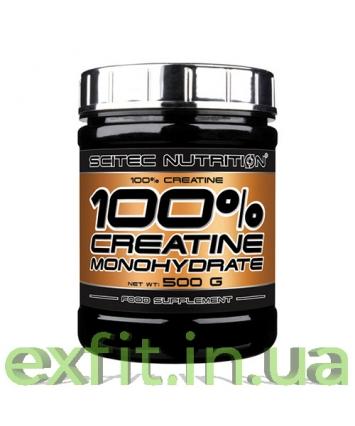 Scitec Nutrition 100% Creatine Monohydrate (500 грамм)