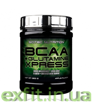 Scitec Nutrition BCAA + Glutamine Xpress (300 грамм)