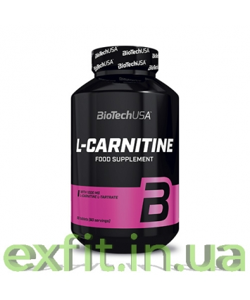 BioTech USA L-Carnitine 1000 mg (60 таблеток)