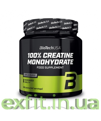 BioTech USA 100% Creatine Monohydrate (500 грамм)