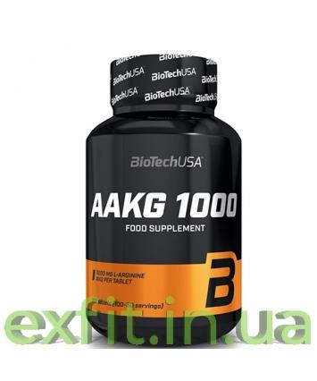 BioTech USA AAKG 1000 (100 таблеток)