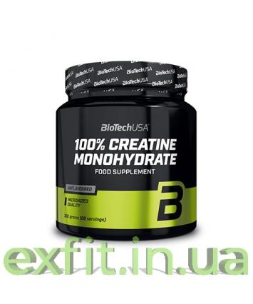 BioTech USA 100% Creatine Monohydrate (300 грамм)