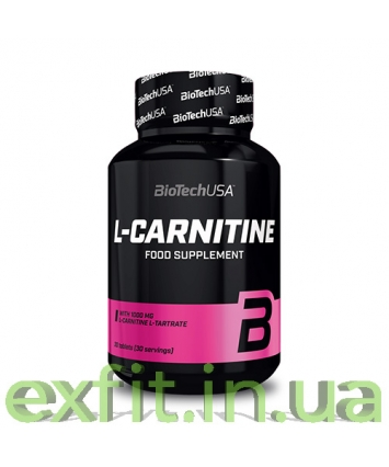 BioTech USA L-Carnitine 1000 mg (30 таблеток)