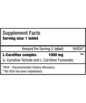 BioTech USA L-Carnitine 1000 mg (60 таблеток)
