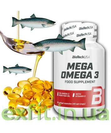 BioTech USA Mega Omega 3 (90 капсул)