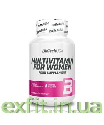BioTech USA Multivitamin for Women (60 таблеток)