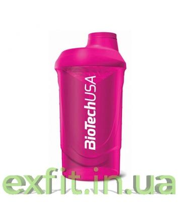 BioTech USA Шейкер Wave (600 ml) пурпурный