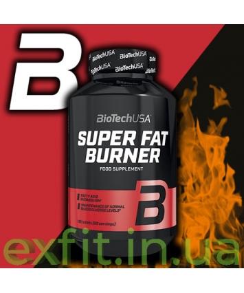 BioTech USA Super Fat Burner (120 таблеток)