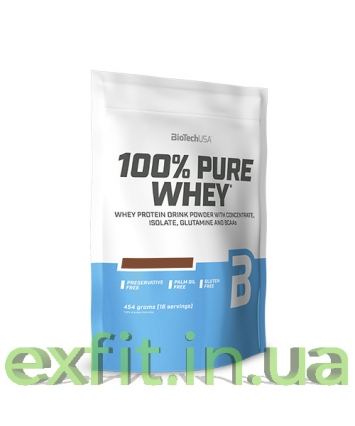 BioTech USA 100% Pure Whey (454 грамм)