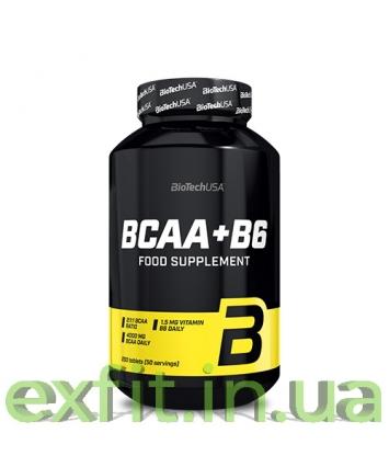 BioTech USA BCAA+B6 (200 таблеток)
