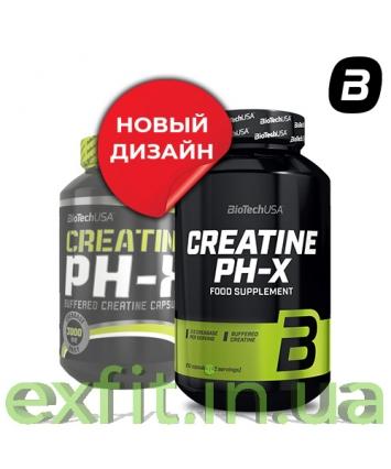 BioTech USA Creatine PH-X (210 капсул)
