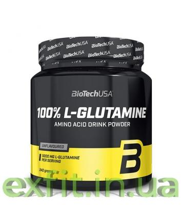 BioTech USA L-Glutamine (240 грамм)