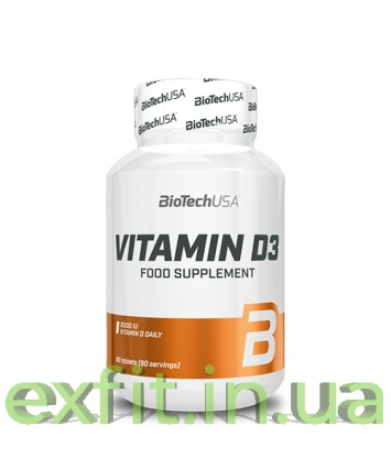 BioTech USA Vitamin D3 (60 таблеток)