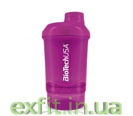 Шейкер Wave+Nano Shaker 300 мл (+150 мл) пурпурный