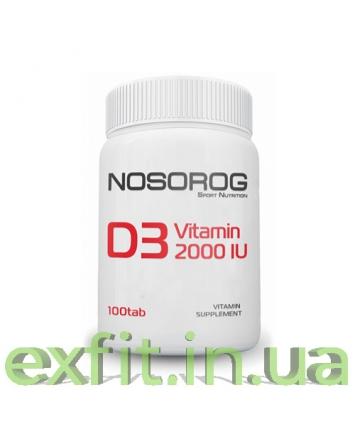 NOSOROG Vitamin D3 2000 IU (100 таблеток)