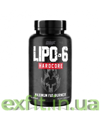 Nutrex Lipo-6 Hardcore (60 капсул)