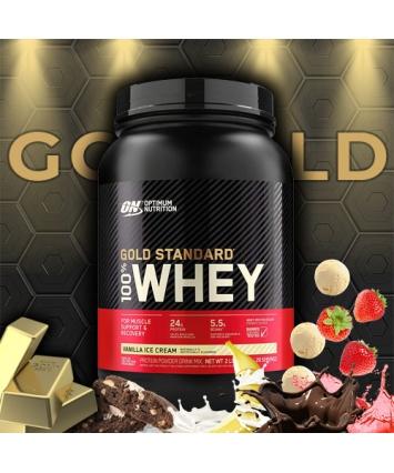 Optimum Nutrition 100% Whey Gold Standard (909 грамм)