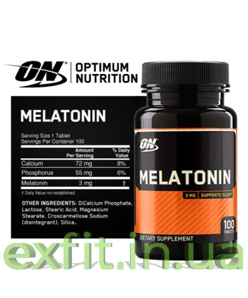 Optimum Nutrition Melatonin (100 таблеток)