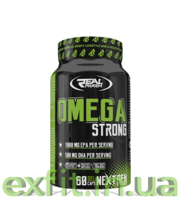 Real Pharm Omega Strong (60 капсул)