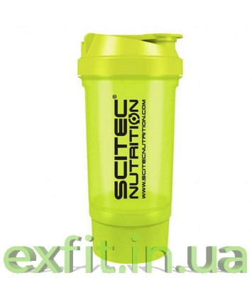 Scitec Nutrition Shaker 500 Travel зелёный (500 мл)