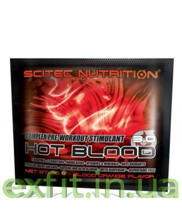 Scitec Nutrition Hot Blood 3.0 (20 грамм)