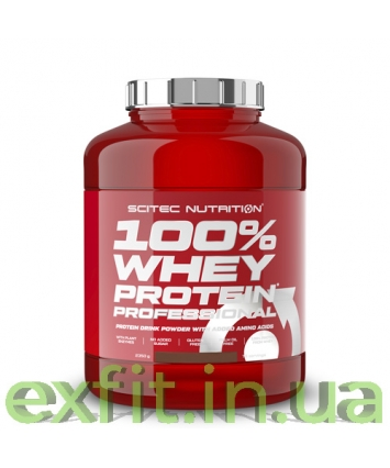 Scitec Nutrition 100% Whey Protein Professional (2,35 кг)