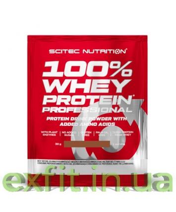 Scitec Nutrition 100% Whey Protein Professional (30 грамм)