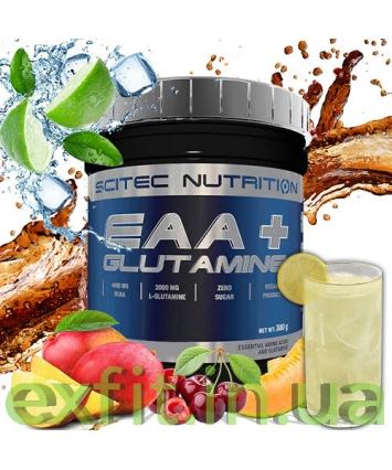 Scitec Nutrition EAA + Glutamine (300 грамм)