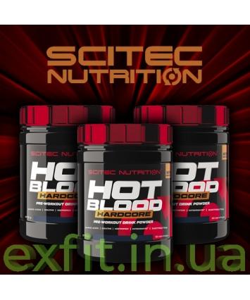 Scitec Nutrition Hot Blood Hardcore (375 грамм)