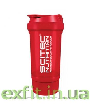 Scitec Nutrition Shaker 500 Travel красный (500 мл)