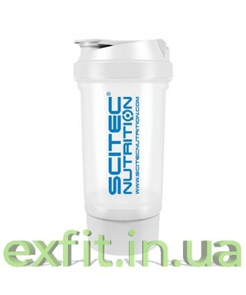 Scitec Nutrition Shaker 500 Travel белый (500 мл)