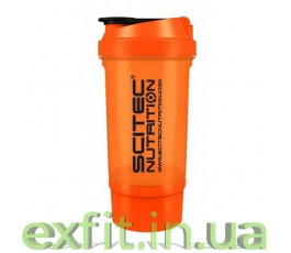 Shaker 500 Travel оранжевый (500 мл)