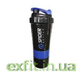 Шейкер Mini 2Go (500 мл) чёрно-синий