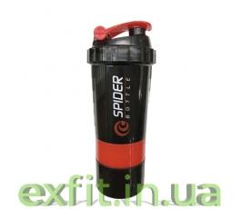 Шейкер Mini 2Go (500 мл) чёрно-красный