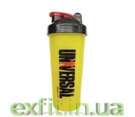 Shaker with metall ball (600 мл) желтый